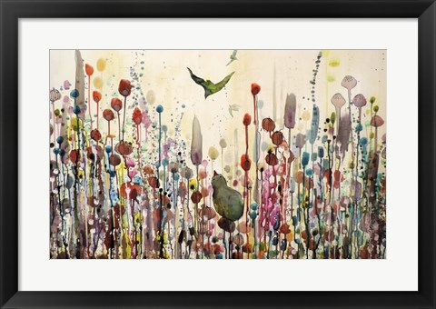 Framed Learning To Fly Print