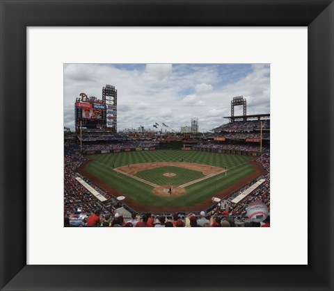 Framed Citizens Bank Park 2015 Print