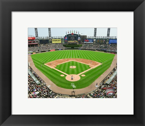 Framed U.S. Cellular Field 2015 Print