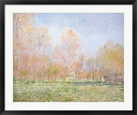 Framed Spring In Giverny Print
