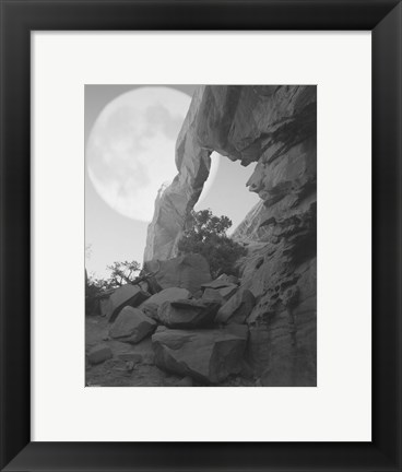 Framed Arches Moon Shadow Print