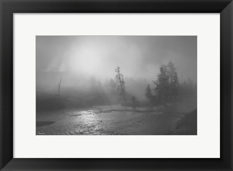Framed Yellowstone 2 Print