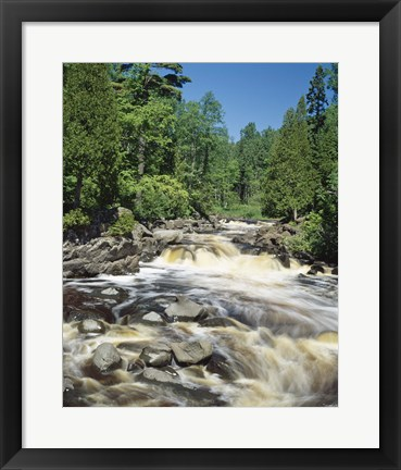 Framed Lake Superior 6 Print