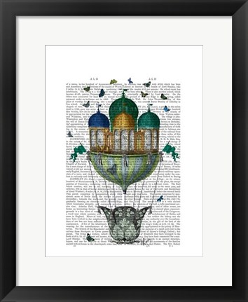 Framed Butterfly House Print