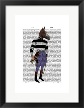 Framed Horse Racing Jockey Full Print