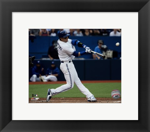 Framed Troy Tulowitzki 2015 Action Print