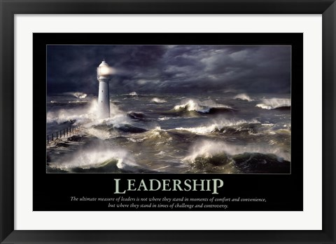 Framed Leadership Print