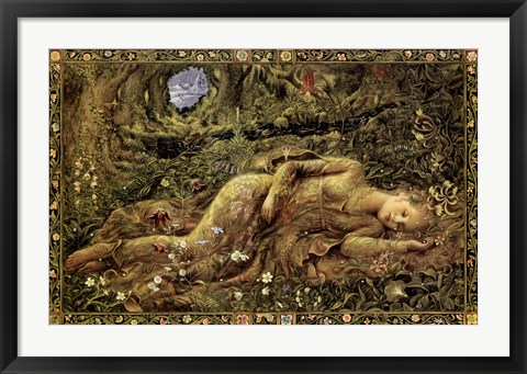 Framed In The Forest of Peace Print