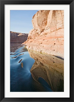 Framed Glen Canyon, Lake Powell, Antelope Canyon Print