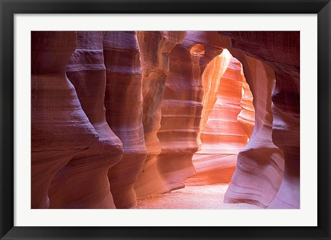 Framed Arizona, Antelope Canyon, Navajo Tribal Park Print