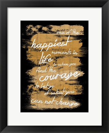 Framed Happiest Moments Print