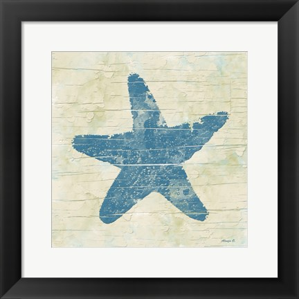 Framed Star Fish Print