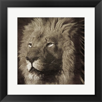 Framed Animal Instincts Print