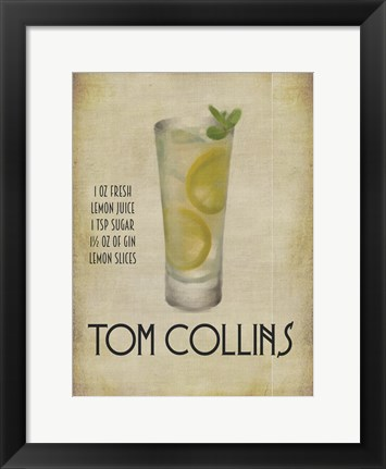 Framed Tom Collins Print