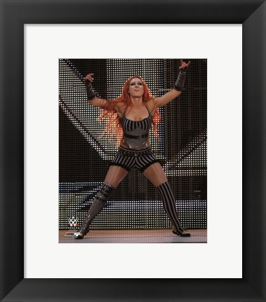 Framed Becky Lynch 2014 Posed Print
