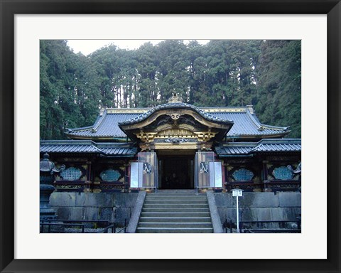 Framed Temple Building Print