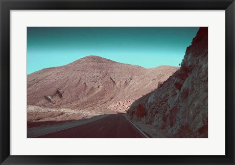 Framed Death Valley Road 2 Print