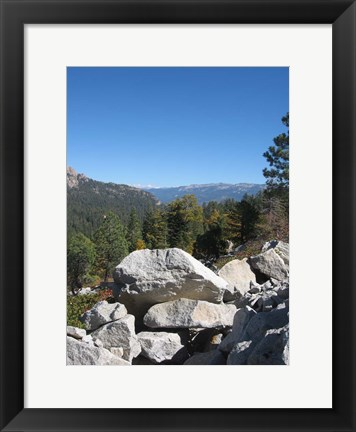 Framed Sierra Nevada Mountains 2 Print