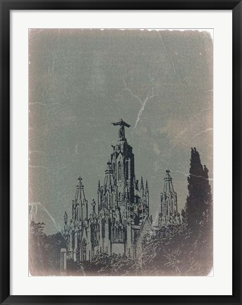 Framed Temple Expiatory Print