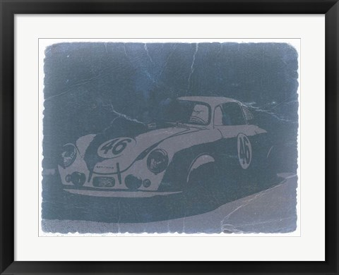 Framed Porsche 356 Coupe Front Print