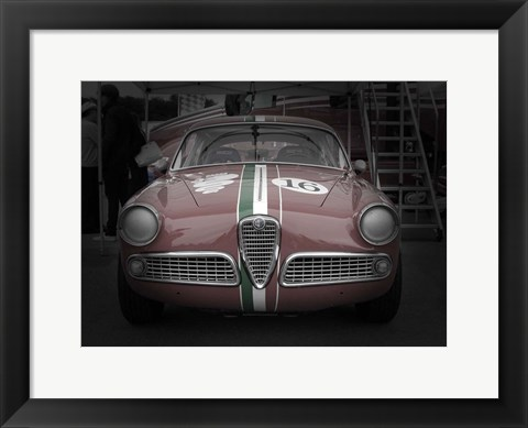 Framed Racing Alfa Romeo Print