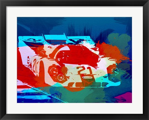 Framed Porsche 917 Racing 1 Print