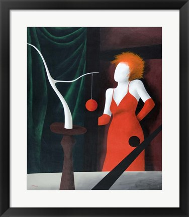 Framed Red Handed Print