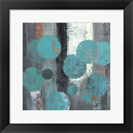 Framed Spherical Flow II Print