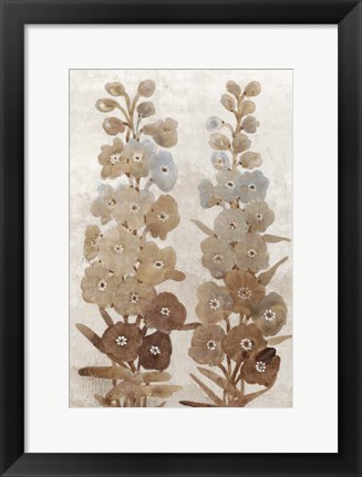 Framed Wildflower Branch II Print
