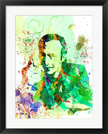 Framed Saul Watercolor Print