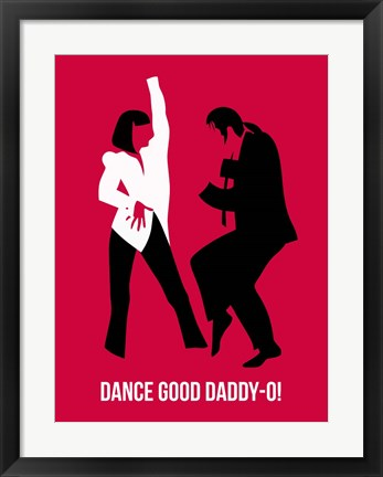 Framed Dance Good 2 Print