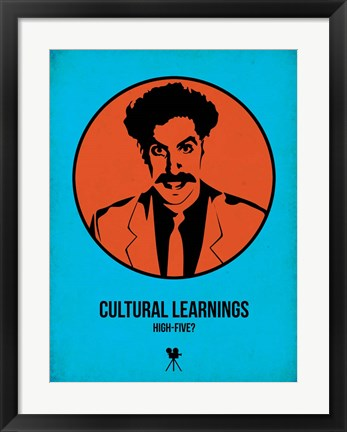 Framed Cultural Learnings 1 Print