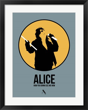 Framed Alice Print
