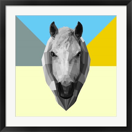 Framed Party Horse Print