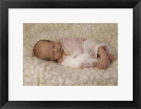 Framed Wrapped in Gauze Print