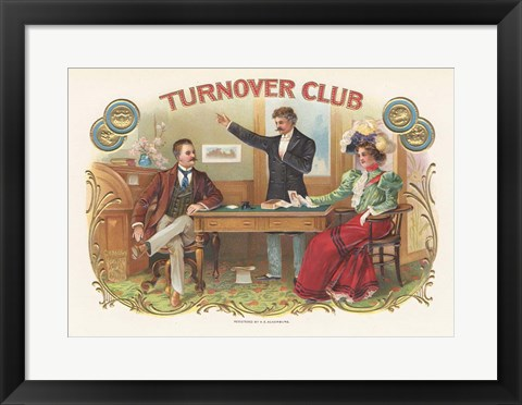 Framed Turnover Club Print