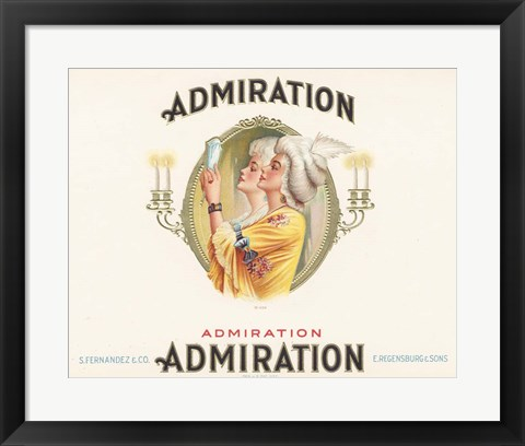 Framed Admiration Print