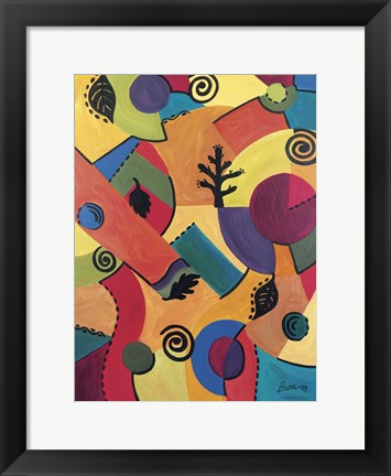 Framed Abstract 1 Print