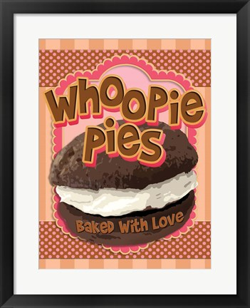 Framed Whoopie Pies - Baked With Love Print