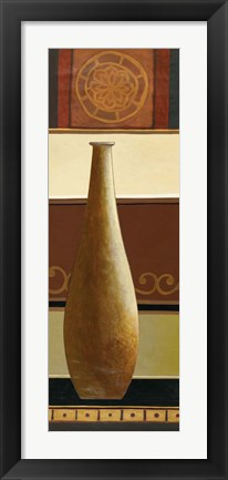 Framed Single Vase II Print