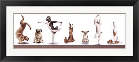 Framed Your Inner Pup Print