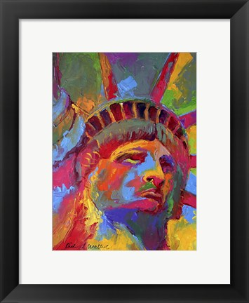 Framed Liberty 1 Print