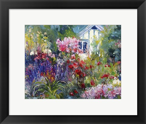 Framed Cottage Print