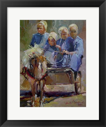 Framed Amish Print