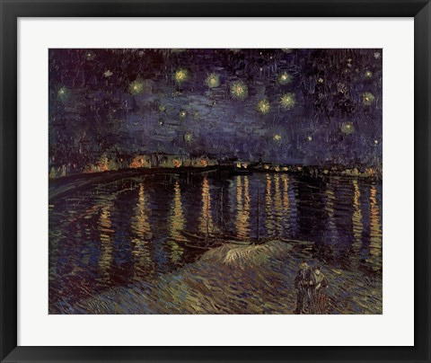 Framed Starlight Rhone Print