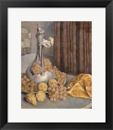 Framed Still Life, 1900 Print