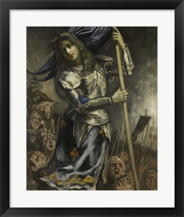 Framed Joan of Arc, 1930 Print