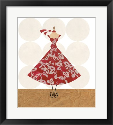 Framed Allure Of Couture Print