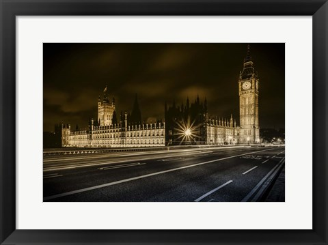 Framed Houses of Parliament Print