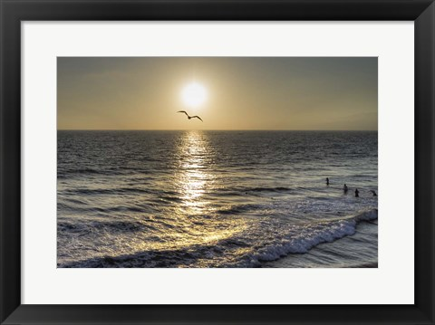 Framed Ocean View Print